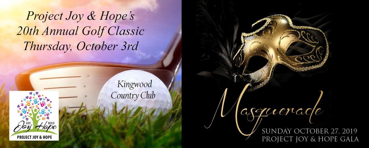 Joy & Hope Golf Classic & Gala 2019